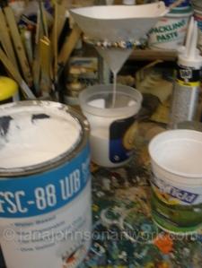 Primer & straining more primer