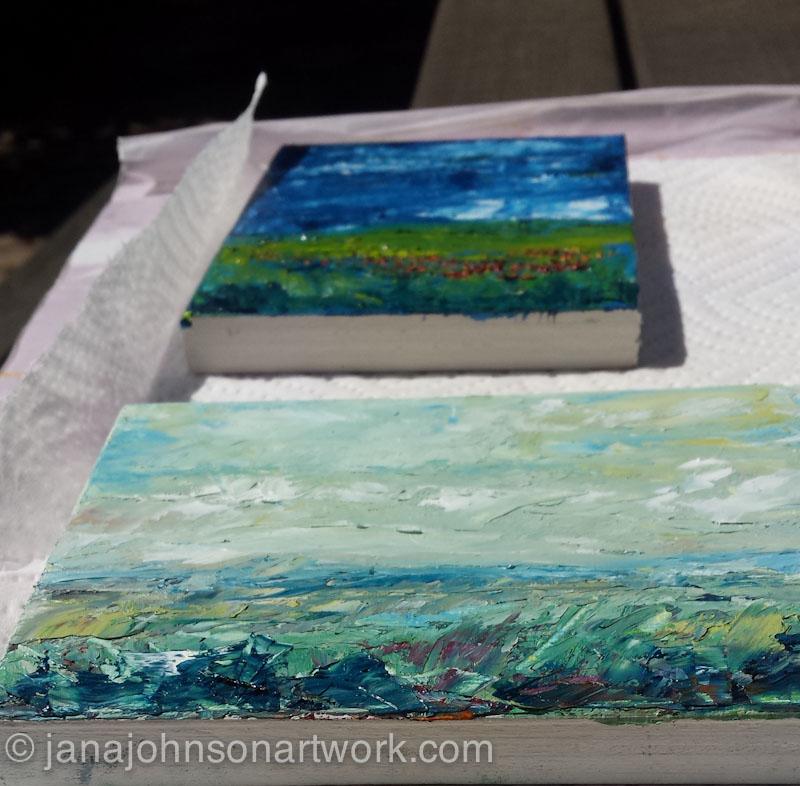 Oil Painting Jana R Johnson Artist